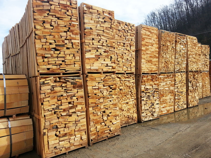 Ogrevno drvo kocka