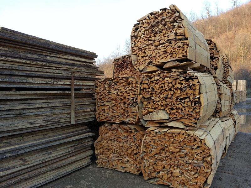 Otpadno drvo paleta